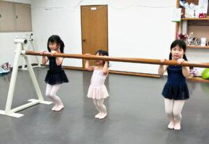 幼児クラス 舞台からの経験を大切にする奈良県橿原市のマミバレエスタジオ