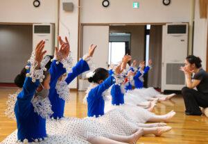 リハーサル風景|マミバレエスタジオ 舞台からの経験を大切にする奈良県橿原市のバレエスタジオ